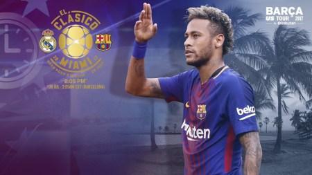 Horario Barcelona vs Real Madrid y canal; El Clásico en Miami