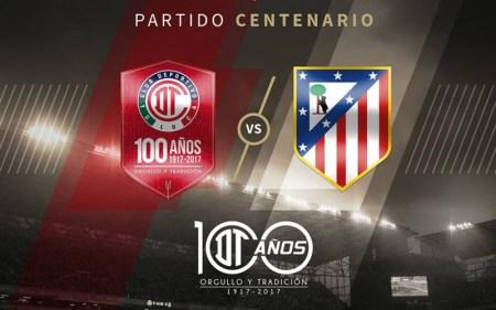 Horario Toluca vs Atlético de Madrid y en qué canal verlo; Partido Centenario
