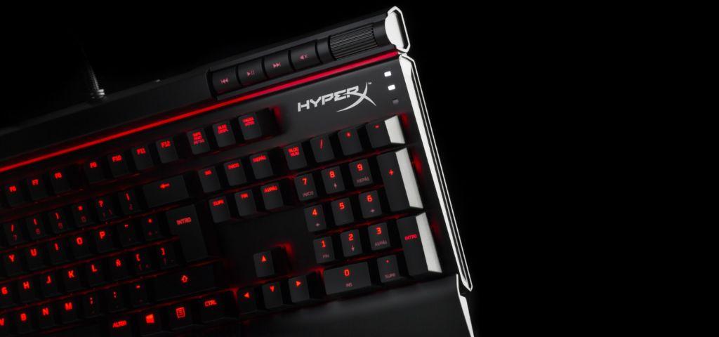 HyperX presenta dos nuevos teclados mecanicos: HyperX Alloy FPS Pro y Alloy Elite - hx-hero-keyboard-alloy-elite-latam-a9-lg