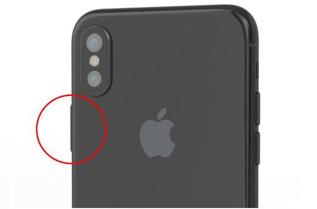 i8 power button El iPhone 8 podría integrar el TouchID en el botón de encendido