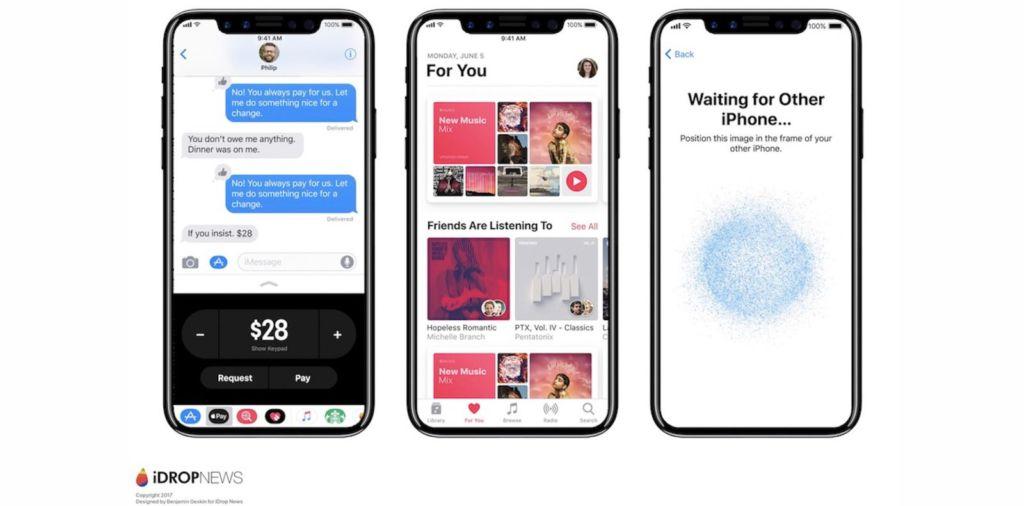 El iPhone 8 no tendría sensor Touch ID - iphone-8-ios-11