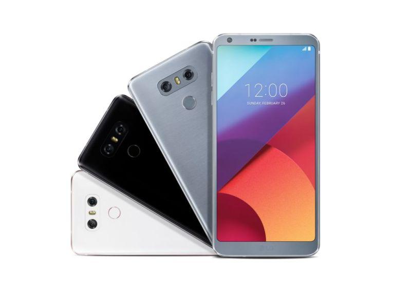 EL LG G6 no logra conquistar a los consumidores - lg-g6-colors