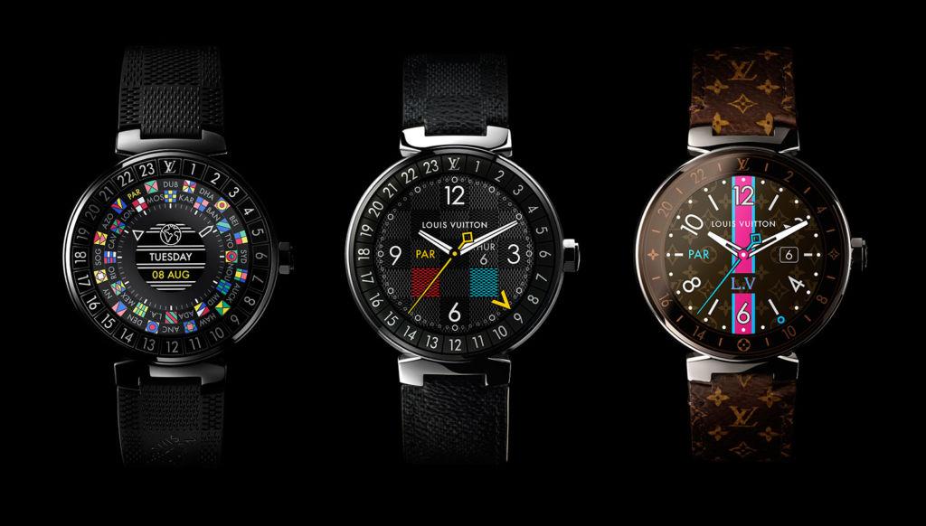 Louis Vuitton hizo un reloj con Android Wear... y es carísimo