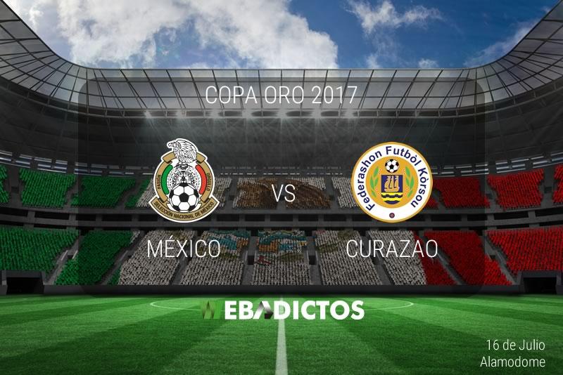 México vs Curazao en Copa Oro 2017 | Resultado: 2-0 - mexico-vs-curazao-copa-oro-2017