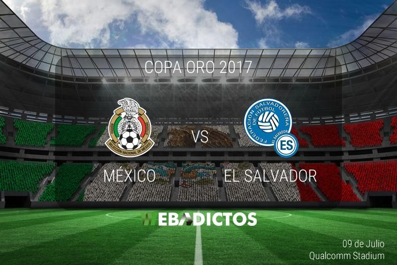 México vs El Salvador, Copa Oro 2017| Resultado: 3-1 | Fase de grupos - mexico-vs-el-salvador-copa-oro-2017