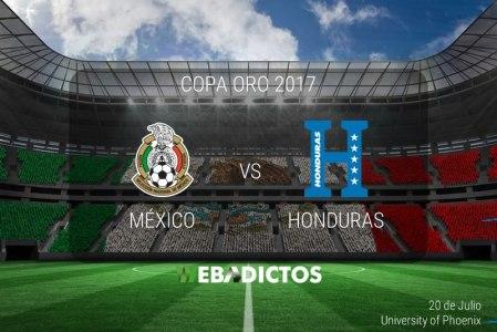 México vs Honduras, Copa Oro 2017   Resultado: 1-0   Cuartos de Final