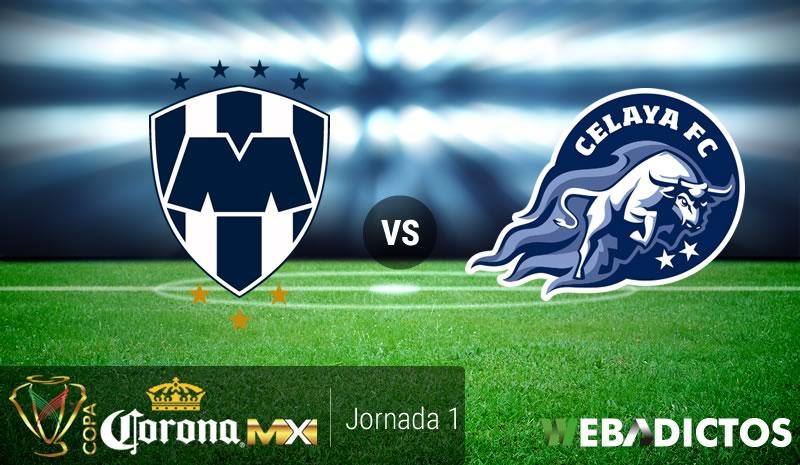 Monterrey vs Celaya, Jornada 1 de Copa MX A2017 | Resultado: 3-0 - monterrey-vs-celaya-copa-mx-apertura-2017
