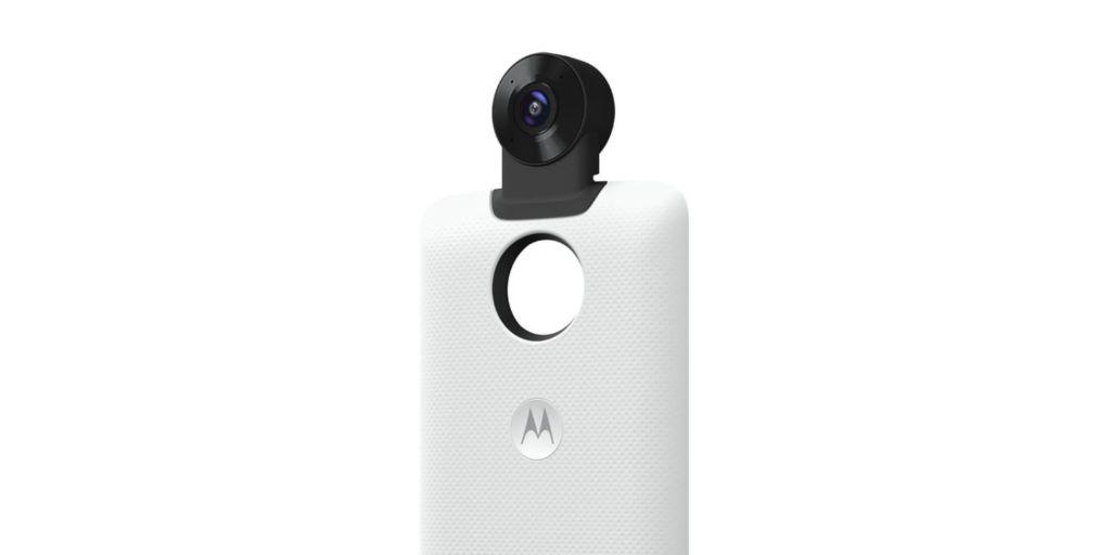 Los próximos Moto Mods de Motorola se centrarán en el entretenimiento - motomod-360-cam