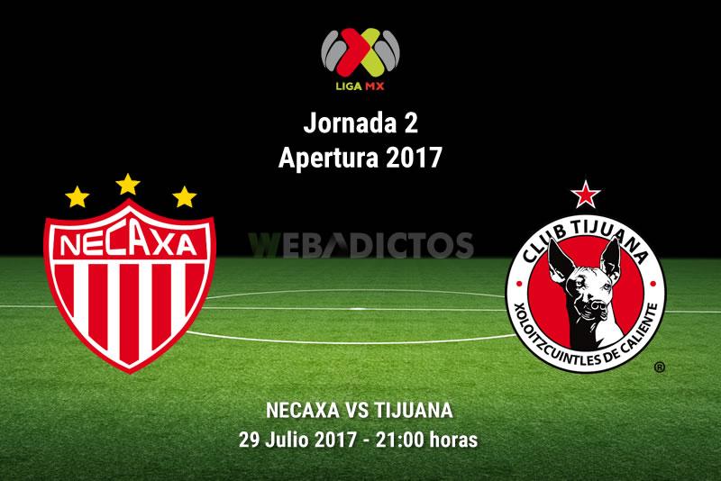 Necaxa vs Tijuana, Fecha 2 del Apertura 2017 | Resultado: 1-0 - necaxa-vs-tijuana-j2-apertura-2017