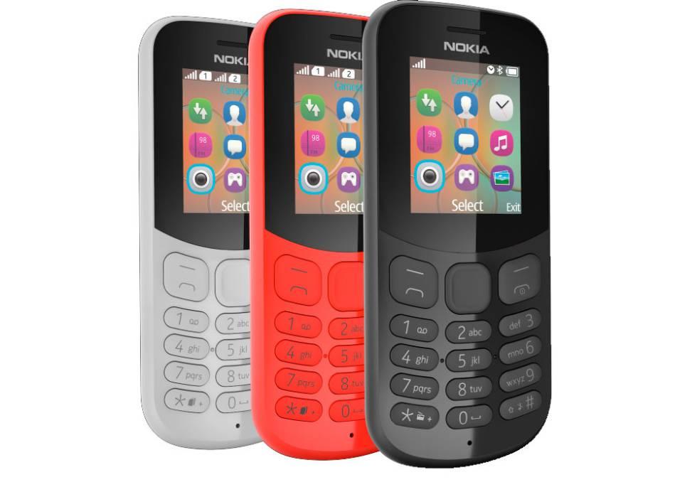 Nokia 105 y 130: la marca reafirma su apuesta por los teléfonos básicos - nokia-130