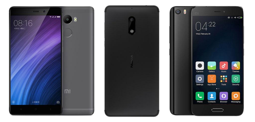 Nokia ayudará a Xiaomi en su camino a la expansión mundial - nokia-xiaomi-devices