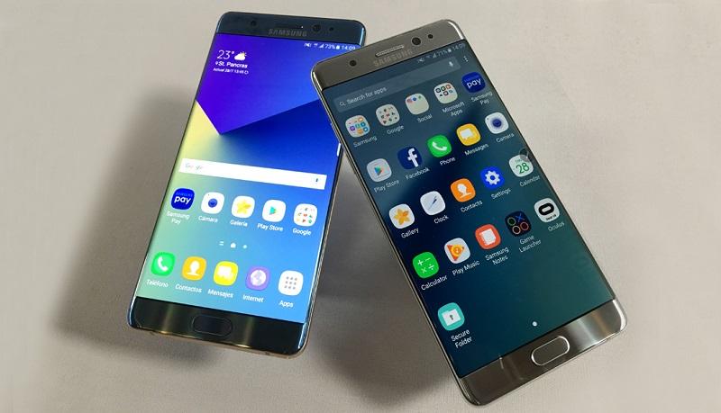 Galaxy Note 8 llegaría con 64 y 128GB de almacenamiento - note75-800x459