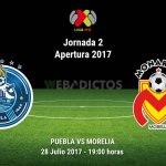 Puebla vs Morelia, Jornada 2 del Apertura 2017 ¡En vivo por internet!