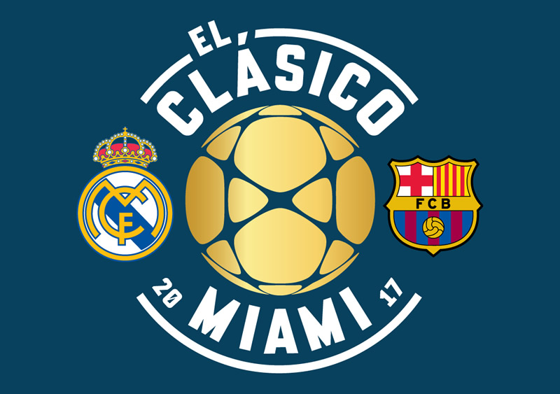 real madrid vs barcelona clasico miami 2017 Real Madrid vs Barcelona, Clásico en Miami | Resultado: 2 3
