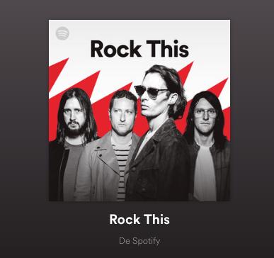 Spotify revela el Top 20 de los rockeros más populares y en el Día Internacional del Rock