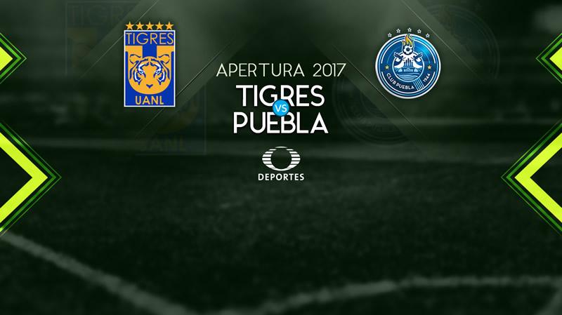 Tigres vs Puebla, Fecha 1 del Apertura 2017 | Resultado: 5-0 - tigres-vs-puebla-apertura-2017-tdn