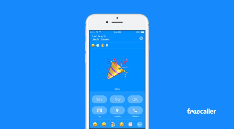 Truecaller lanza mensajes Flash para iPhone y Android - truecaller-flash-message