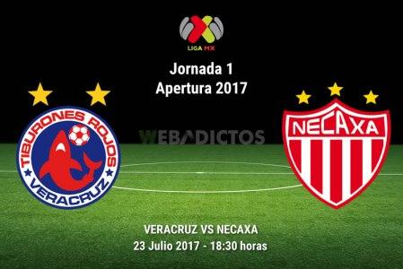 Veracruz vs Necaxa, Fecha 1 del Apertura 2017 | Resultado: 0-2