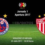 Veracruz vs Necaxa, Fecha 1 del Apertura 2017 ¡En vivo por internet!