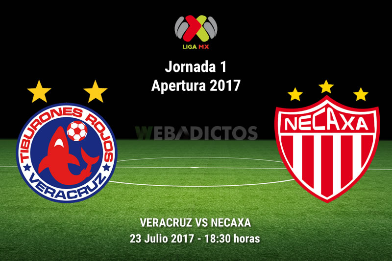 Veracruz vs Necaxa, Fecha 1 del Apertura 2017 | Resultado: 0-2 - veracruz-vs-necaxa-j1-apertura-2017