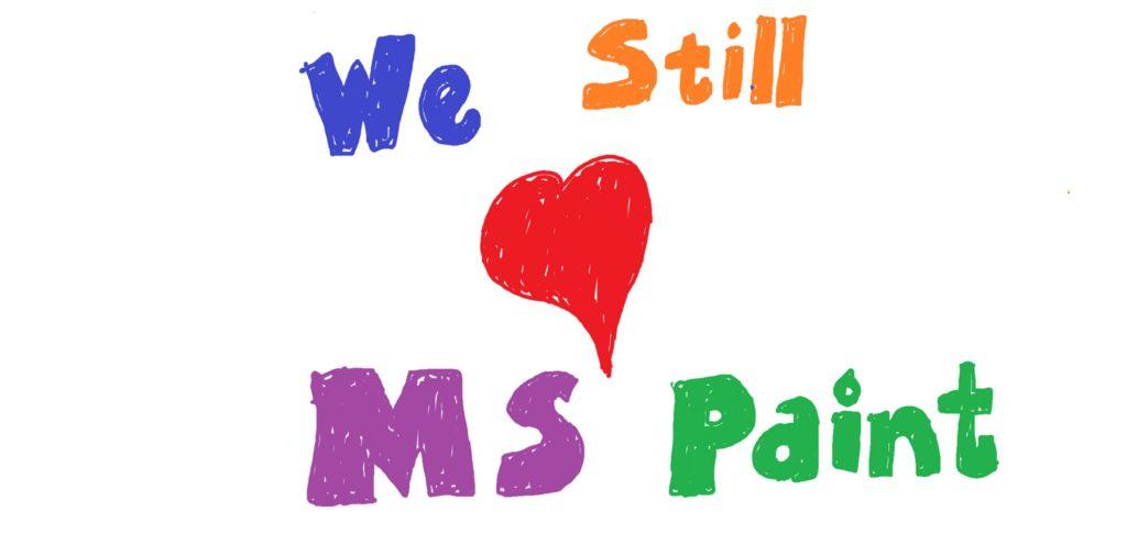 ¡Paint seguirá vivo!, ahora como app independiente en la Windows Store - we-love-ms-paint