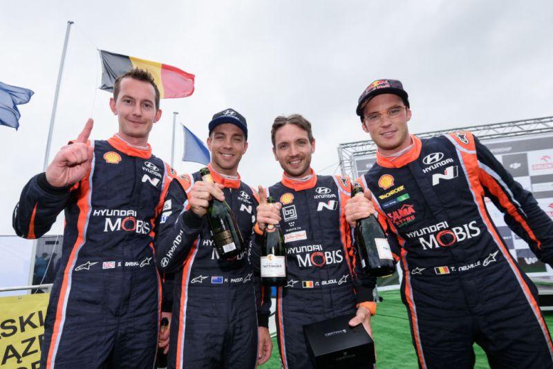 Hyundai Motorsport celebra su sexto World Rally Championship victorioso - wrc-polonia-hundai-800x534