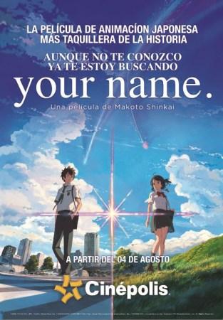 """""""Your Name"""" la película de animación japonesa más taquillera de la historia llega a México"""