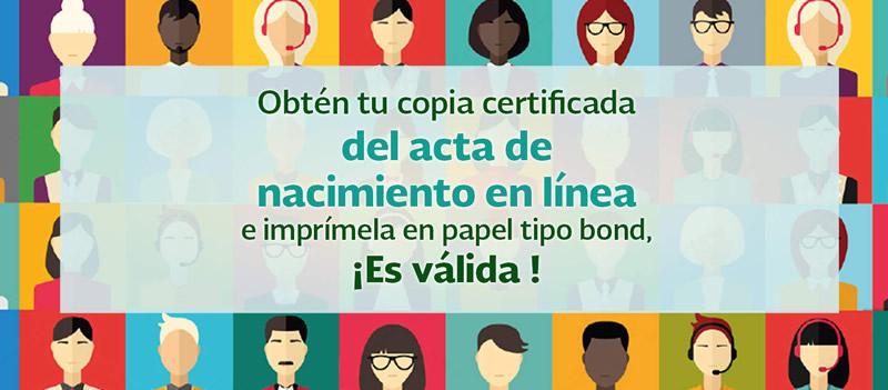Solicitar e Imprimir tu acta de nacimiento en línea ya es posible ¡Entérate! - acta-de-nacimiento-en-linea