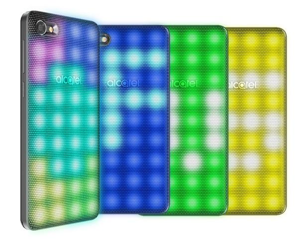 Gadgets de Alcatel para el regreso a clases - alcatel-a5-led