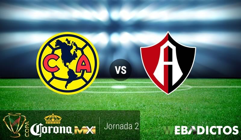 América vs Atlas, Jornada 2 de Copa MX A2017 | Resultado: 0-1 - america-vs-atlas-copa-mx-apertura-2017