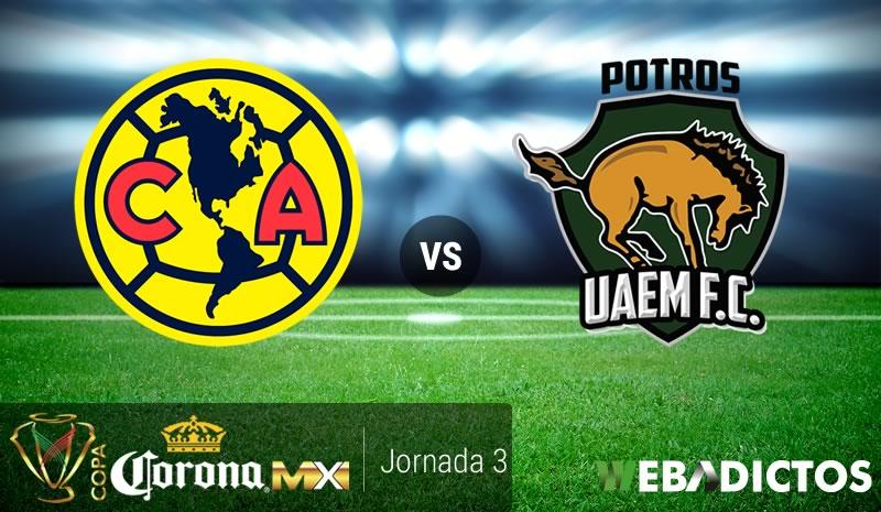 América vs Potros UAEM, Copa MX A2017 | Resultado: 2-1 - america-vs-potros-uaem-copa-mx-apertura-2017