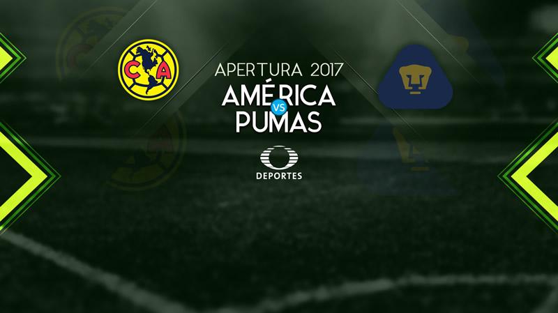 América vs Pumas, Clásico Capitalino A2017 | Resultado: 2-1 - america-vs-pumas-en-vivo-j3-apertura-2017