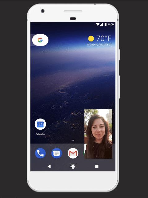 Google presenta Android 8.0 Oreo - ao-pip