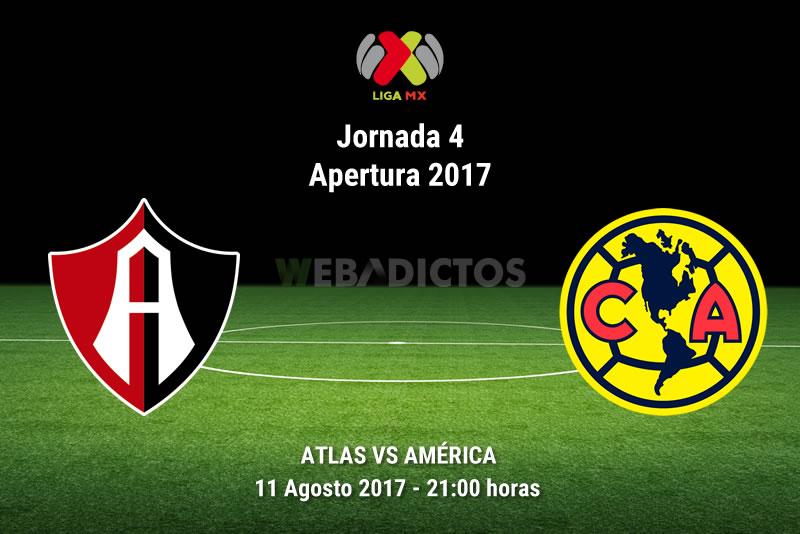 Atlas vs América, Jornada 4 Liga MX Apertura 2017   Resultado: 1-0 - atlas-vs-america-j4-apertura-2017