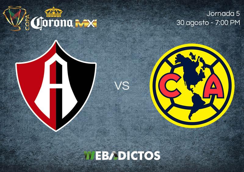 Atlas vs América, Jornada 5 de Copa MX A2017   Resultado: 0-2 - atlas-vs-america-j5-copa-mx-apertura-2017