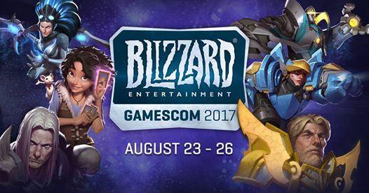 Blizzard Entertainment en la Gamescom 2017 - blizzard-entertainment-en-la-gamescom-2017