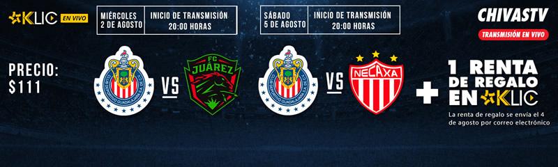 Chivas vs Juárez, Copa MX Apertura 2017 | Resultado: 4-2 - chivas-vs-juarez-copa-mx-apertura-2017-chivas-tv-cinepolis-klic