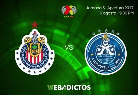 Chivas vs Puebla, Jornada 5 de la Liga MX A2017 | En vivo