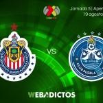 Chivas vs Puebla, Jornada 5 de la Liga MX A2017 | Resultado: 0-1
