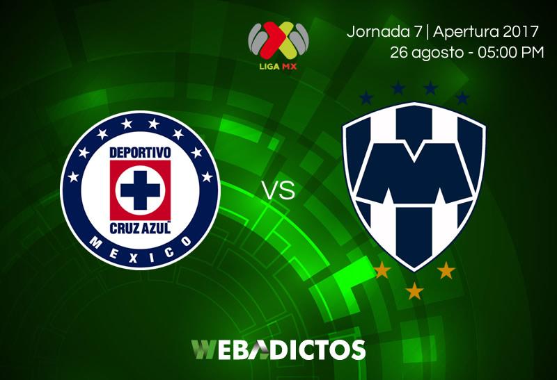 Cruz Azul vs Monterrey, J7 de la Liga MX Apertura 2017 | Resultado: 1-1 - cruz-azul-vs-monterrey-j7-apertura-2017