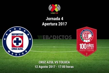Cruz Azul vs Toluca, Jornada 4 Liga MX A2017 | Resultado: 0-0