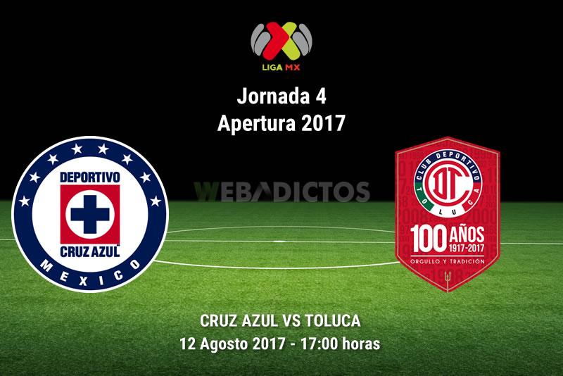 cruz azul vs toluca j4 apertura 2017 Cruz Azul vs Toluca, Jornada 4 Liga MX A2017 | Resultado: 0 0