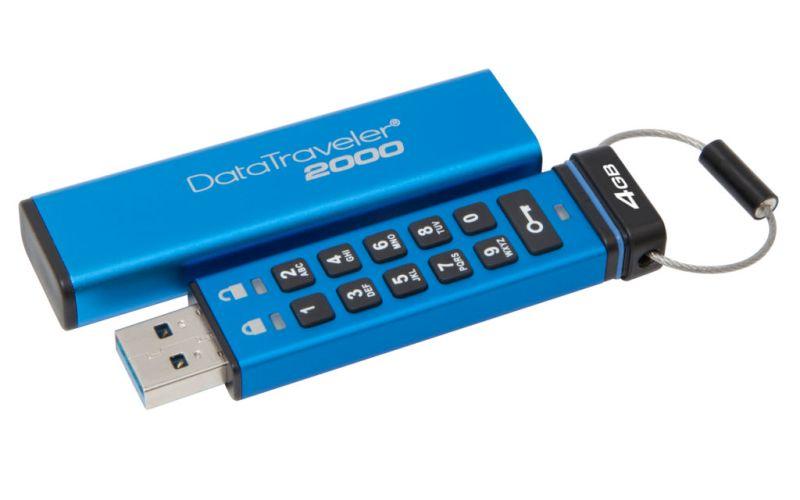 Kingston agrega nuevas capacidades a su unidad USB cifrada DataTraveler 2000 - datatraveler-2000-4gb-800x500