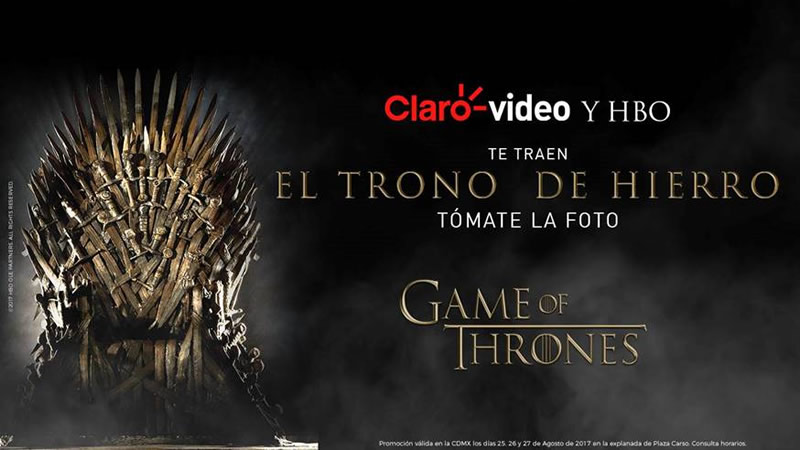 El Trono de Hierro de Game of Thrones llega a México - el-trono-de-hierro-game-of-thrones-cdmx