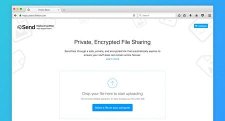 Enviar archivos pesados gratis y seguros por Send de Mozilla