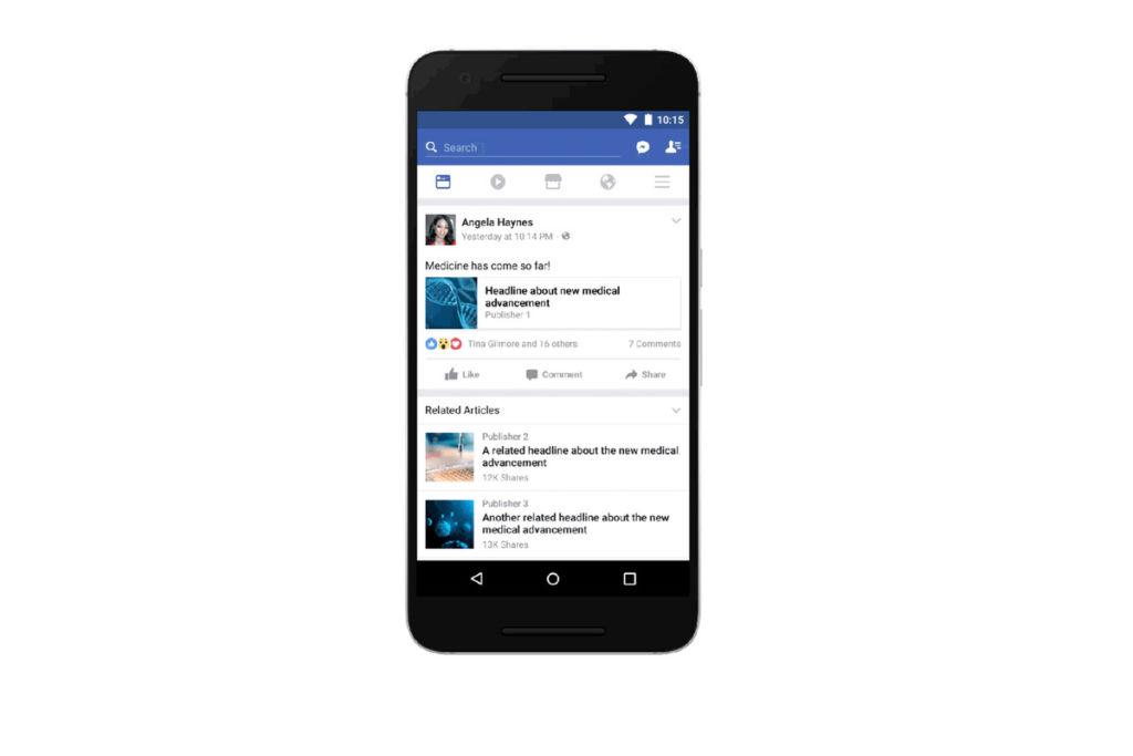 Facebook dará prioridad a publicaciones con enlaces que carguen rápido - facebook-news-feed-links