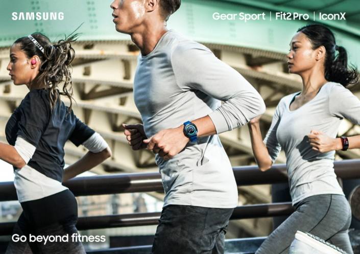 Nuevos dispositivos Gear de Samsung: Gear Sport, Fit2 Pro y IconX - gear-fit2-pro-gear-iconx-gear-sport