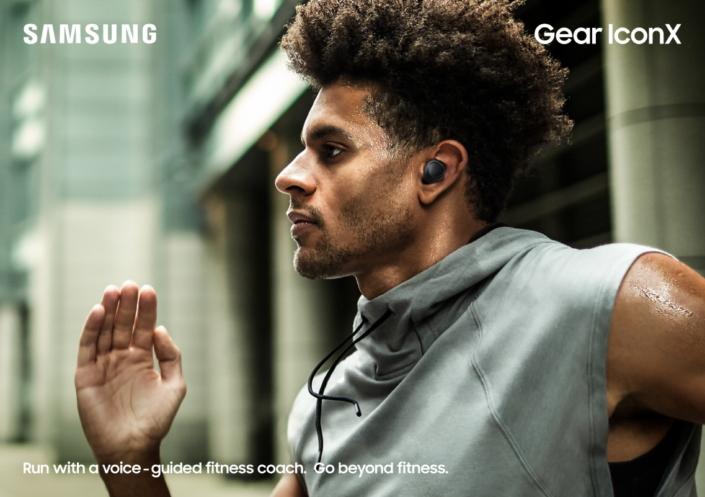 Nuevos dispositivos Gear de Samsung: Gear Sport, Fit2 Pro y IconX - gear-iconx