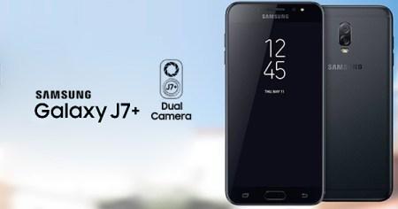 El Galaxy J7+ será el segundo smartphone de Samsung con doble cámara