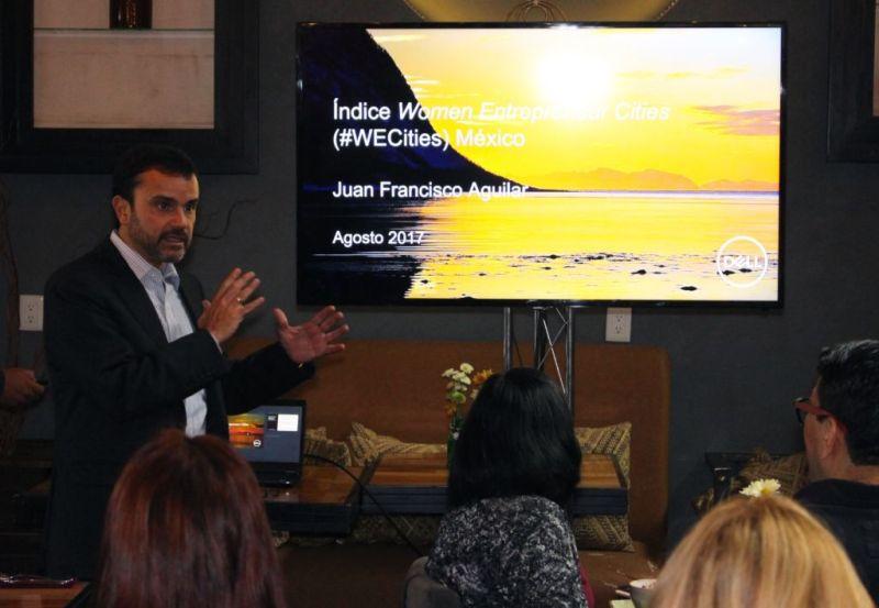juan francisco aguilar director general grupo de soluciones comerciales dell mexico4 800x553 We Cities, índice realizado en 50 ciudades alrededor del mundo sobre mujeres emprendedoras